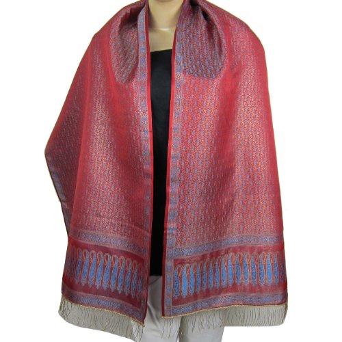 Spring Clothing Scarf Fashions For Women Silk Brocade 55 cm x 182 cm