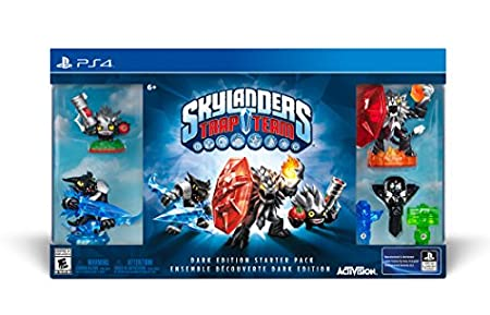 Skylanders Trap Team Dark Edition - PlayStation 4
