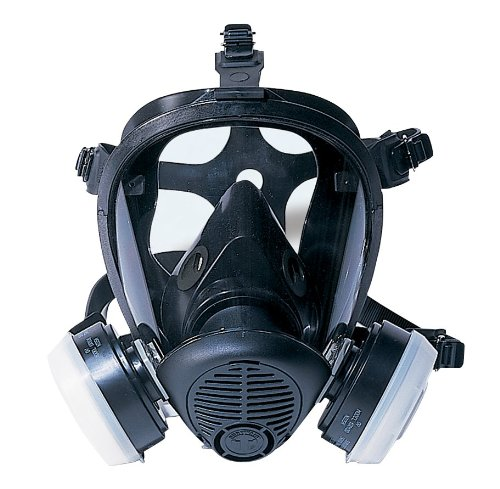 SAS Safety 7650-61 Opti-Fit Full-face APR Respirator, Medium (Chemical Gas Mask compare prices)