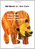 Brown Bear, Brown Bear, What Do You See? [ボードブック] / Bill Martin (著); Eric Carle (イラスト); Henry Holt Books for Young Readers (刊)