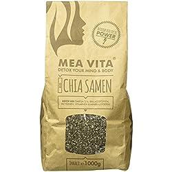 MeaVita Bio Chia Samen, DE-ÖKO-037, 1er Pack (1 x 1000g)