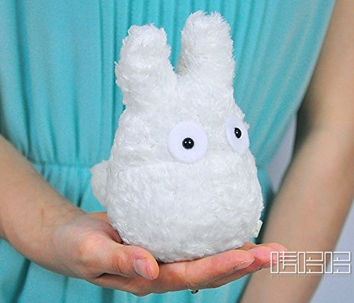 "My Neighbor Totoro 5.5"" White Totoro The small white hang act the role ofing - 1"