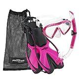 Phantom Aquatics Speed Sport Junior Mask Fin Snorkel Set, PK-SM