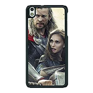 Jugaaduu Thor Back Cover Case For HTC Desire 816G