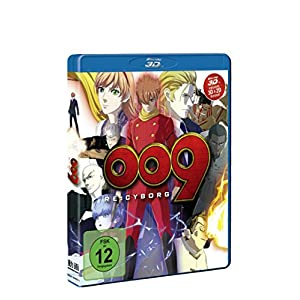 009 Re: Cyborg Bd 3d/2d [Blu-ray] [Import allemand]