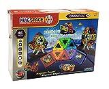 「日本版正規品」MAGSPACE・マグスペース 46 高級「カーニバルセット」 創造力を育てる知育玩具