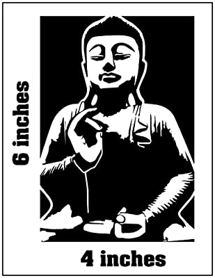 GAUTAMA BUDDHA Stickers Cut Vinyl Decal