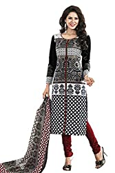 LUXURIA ARTS WOMEN'S COTTON UNSTITCHED DRESS MATERIAL_B-KUMBH_Multi-Coloured.