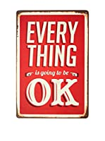 SuperStudio Panel Decorativo Everything Ok