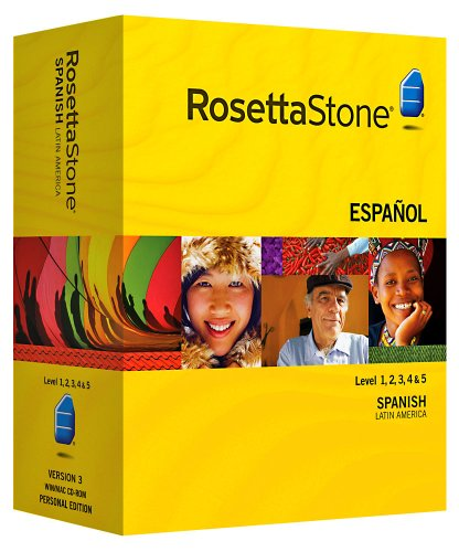 Rosetta Stone Version 3: Spanish (Latin America) Level 1,2,3,4 & 5 Set with Audio Companion:   Rosetta Stone Christmas Gift