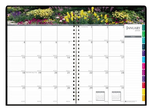 House Of Doolittle Earthscapes Gardens Of The World Monthly Planner, 12 Months, January 2012 To December 2012, 7 X 10 Inches, Recycled, Black\Multi (Hod264632)