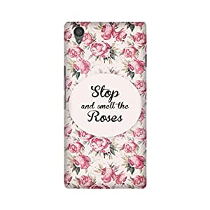 StyleO Oneplus X / Onyx Designer Printed Case & Covers (Oneplus X / Onyx Back Cover) - Stop and smell the roses Quote