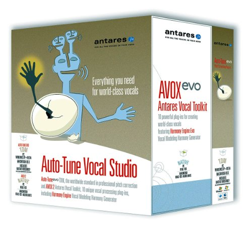 Antares Auto-tune Evo With Vocal Studio Plus