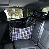 Lalawow Autositz Autoschondecke Rückbank Transporttasche Tragetasche für Hund und Katze