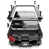 iPhone7 Plus 5.5インチ用ケース 2win2buy 液晶保護強化ガラスフィルム付き 生活防水/防塵/耐衝撃 アウトドア スポーツ ケース アイフォン7 プラス対応耐衝撃カバー, ブラック