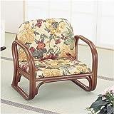 籐思いやり座椅子(ロータイプ) S110B