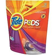 Tide Liquid Laundry Detergent Pods-18CT TIDE PODS DETERGENT
