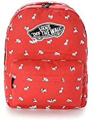 VANS - Vans Women's Backpack - Dalmation - Red - One Size