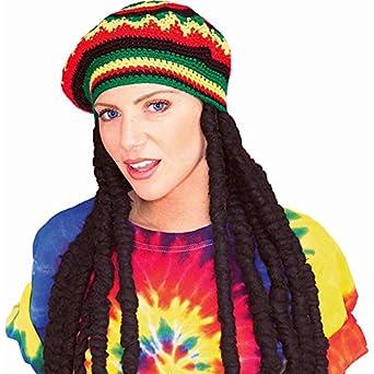 Rubie's Rasta Wig with Cap