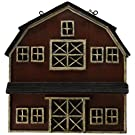 Red Country Barn - Decorative Plaque for Arrow Hanger