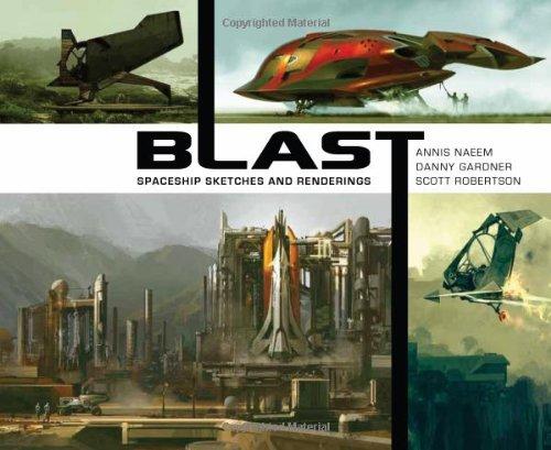 BLAST: spaceship sketches and renderings PDF