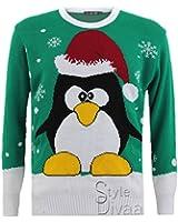 SD Mens Ladies Unisex Xmas Christmas Jumper Novelty Rudolph Penguin santa Winter Sweater Jumpers
