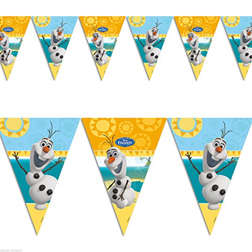 Purchase Procos S.A. Disney Frozen Olaf Summer Flag Banner