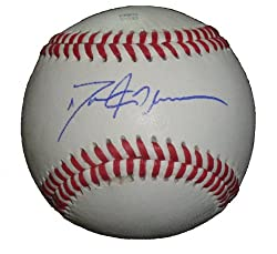 Dallas McPherson Autographed ROLB Baseball, Chicago White Sox, Los Angeles Angels, Proof Photo