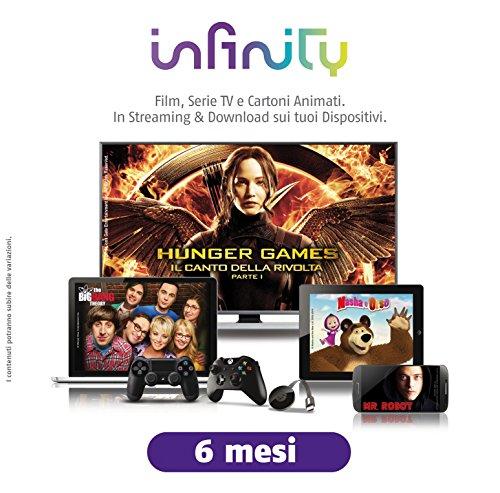 Infinity Cofanetto Regalo 6 Mesi Film Serie TV Cartoni Animati - Gift Box