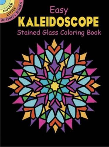Dover Easy Kaleidoscope Stained Glass Coloring Book (Dover Stained Glass Coloring Book) (Colored Pencil Patterns compare prices)