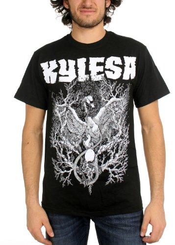 Kylesa-da uomo cigni of Ash Maglietta in nero nera Black XXL