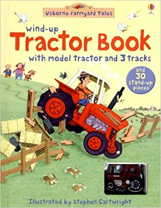 Wind-Up Tractor Book (Usborne Farmyard Tales)