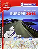 Europe 2014 - A4 spiral atlas (Michelin Tourist and Motoring Atlas)