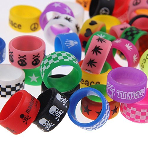 Vape Bandes (5 x Random Logo Design) 19 mm x 12 mm New with Logo pour rta RDA Atomiseurs uksellingsuppliers