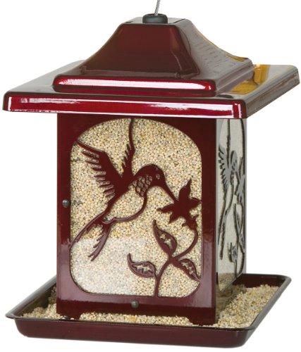 Homestead Hummingbird Bird Feeder (Jolly Pop Red) - 4485C