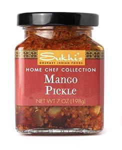 Sukhis Mango Pickle by Sukhi's Quick N Ezee Indian Foods