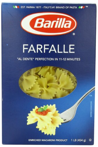 Barilla Pasta, Farfalle, 16 Ounce (Pack of 12) (Bow Pasta compare prices)