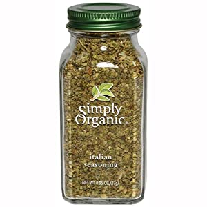 Simply Organic Italian Seasoning Certified Organic, 0.95-Ounce Containers (Pack of 3)