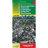 Freytag Berndt Wanderkarten, WK 023, Thermenregion Baden - Forchenstein - Rosaliengebirge - Bucklige Welt - Wiener Neustadt - Maßstab 1:50 000 (freytag & berndt Wander-Rad-Freizeitkarten)