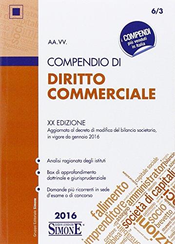 Compendio di diritto commerciale PDF