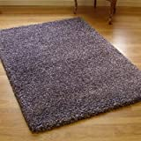 Twilight 39001-8888 Thick Luxurious Shaggy Rug Lilac Heather