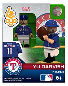 Yu Darvish 2013 Generation 2 Oyo Mini Figure Texas Rangers by OYO