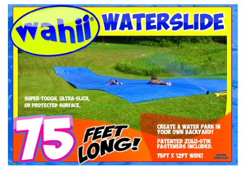 Buy Bargain Wahii WaterSlide 75 - World's Biggest Backyard Lawn Water Slide!