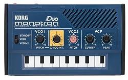 Korg MONOTRONDUO 0-Key Dual Oscillator Analog Pocket Synthesizer