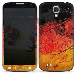 Samsung Galaxy S4 i9500 / LTE i9505 Folie Skin Aufkleber Schutzfolie Sticker DesignSkins - Schwarz, Rot, Gold