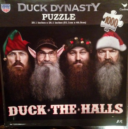 Duck Dynasty Puzzle Duck The Halls 1000-Piece - 1