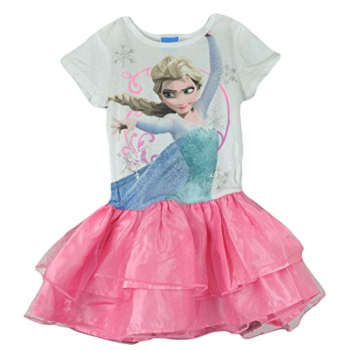 Frozen Disney Queen Elsa Youth Girls tutu Dress Costume