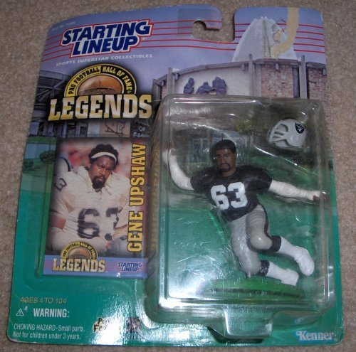 Gene Upshaw Starting Lineup Pro Football Hall of Fame Legends Oakland Raiders Figure by Kenner
