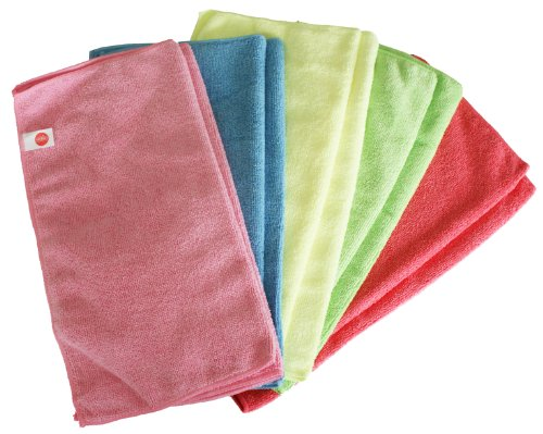 Microfibre Cloths - Pack of 10 Cloths - Large 40cm x 40cm - Green - Great for Cleaning Cars, Boats, Kitchens etc. 5 pack of disposable lighters pack of 3 sets