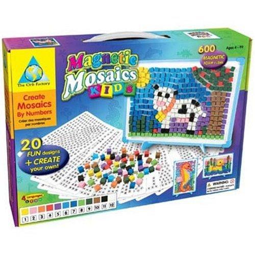 orb factory 儿童磁性马赛克拼图玩具